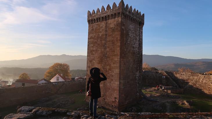 Susana em Castelo de Melgaço - Portugal © Viaje Comigo
