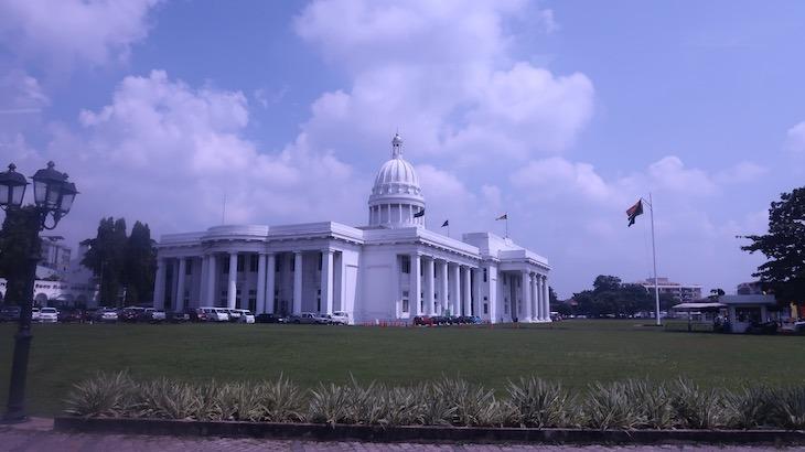 """""""Casa Branca"""" de Colombo - Sri Lanka © Viaje Comigo"""
