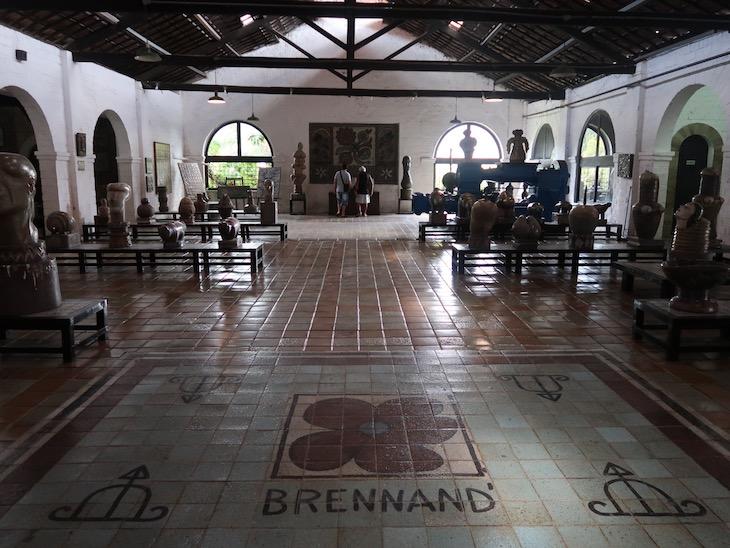 Oficina Cerâmica Francisco Brennand, Recife, Brasil © Viaje Comigo