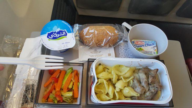 Comida no avião da Royal Air Maroc © Viaje ComigoComida no avião da Royal Air Maroc © Viaje Comigo
