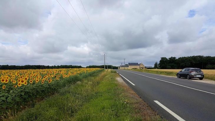 Na estrada Vale do Loire - França © Viaje Comigo