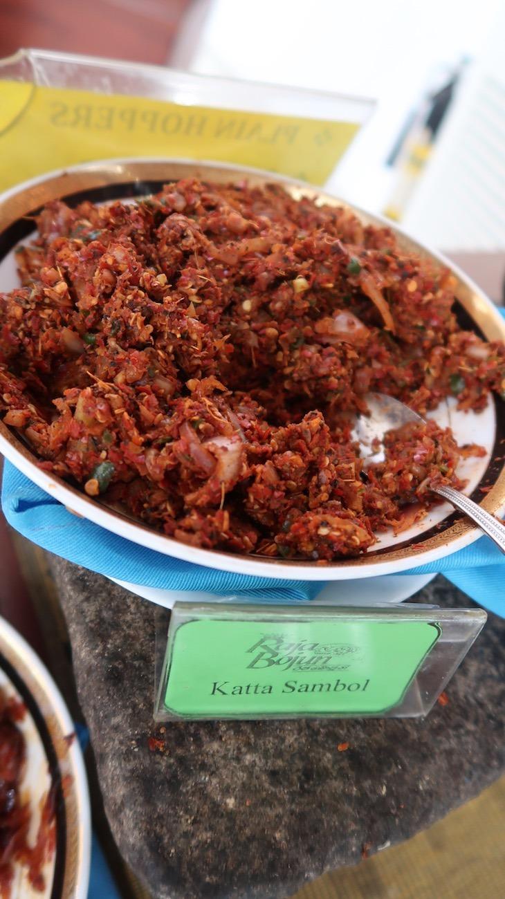 Katta Sambol  - Restaurante Raja Bojun - Colombo - Sri Lanka © Viaje Comigo