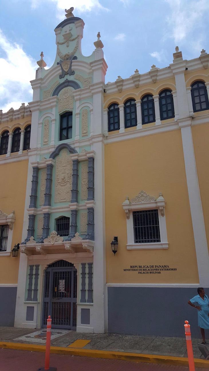 Palacio Bolivar - Centro Histórico da Cidade do Panamá © Viaje Comigo