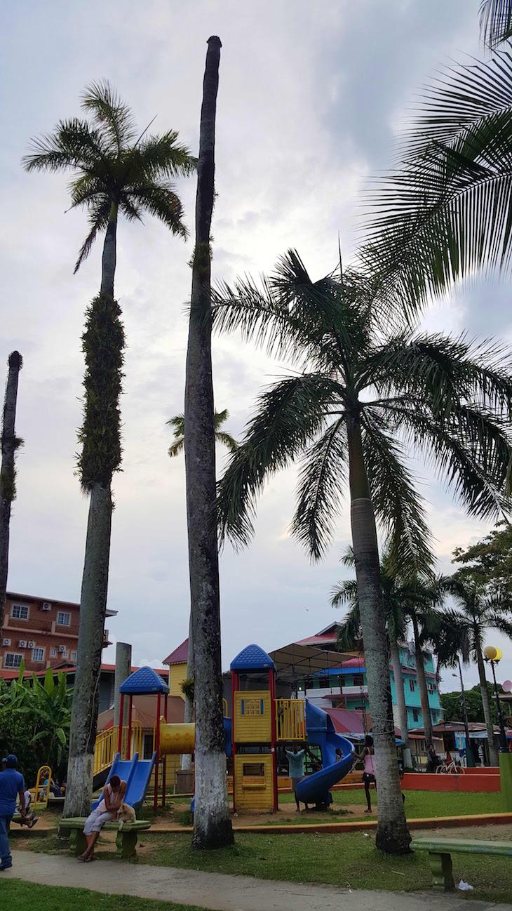 Parque Simon Bolivar - Isla Colon - Bocas del Toro - Panamá © Viaje Comigo