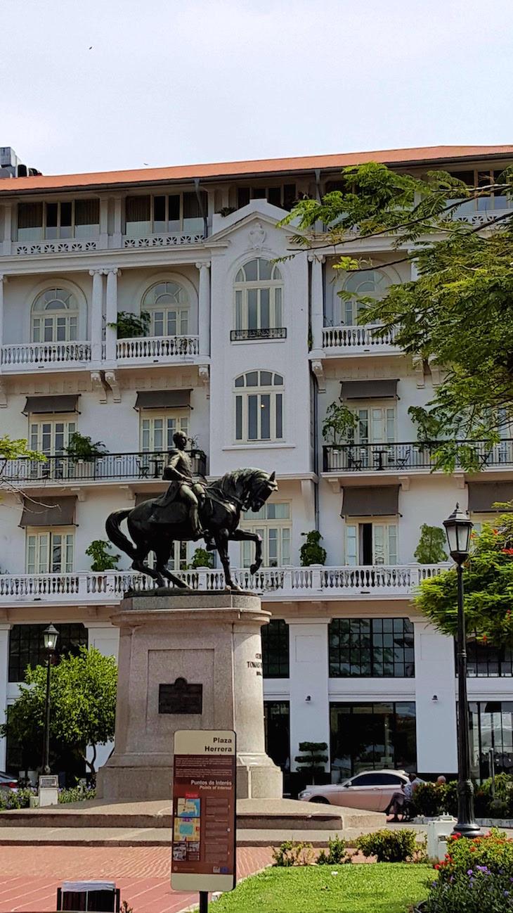 Plaza Herrera - Centro Histórico - Cidade do Panamá © Viaje Comigo