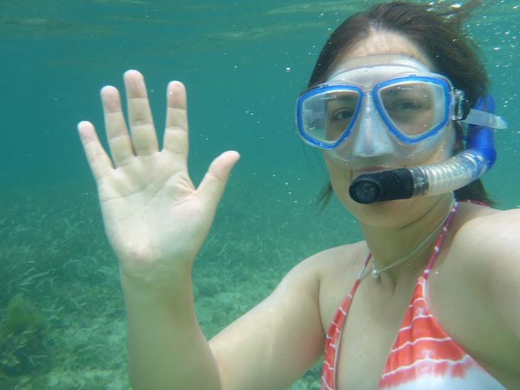 Snorkeling - Cayo Zapatilla - Bocas del Toro - Panamá © Viaje Comigo