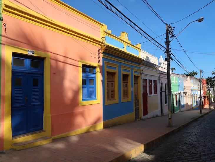 Casas coloridas de Olinda - Pernambuco - Brasil © Viaje Comigo