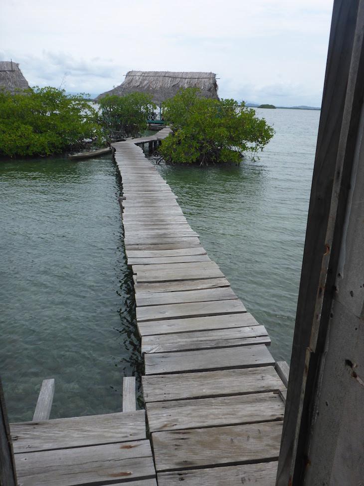 Vista do WC do Alfonso - Bocas del Toro - Panamá © Viaje Comigo