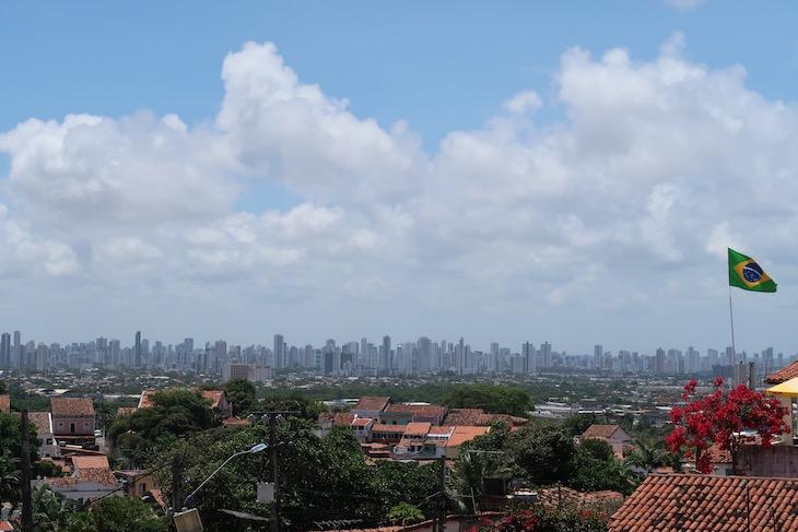 Vista para Recife - Olinda - Pernambuco - Brasil © Viaje Comigo