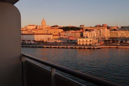 Chegar de cruzeiro a Lisboa © Viaje Comigo