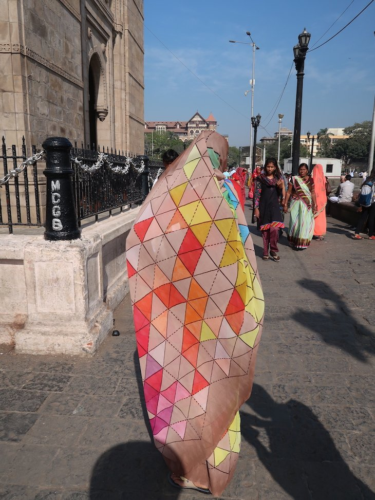 Sáris de Bombaim - Índia © Viaje Comigo