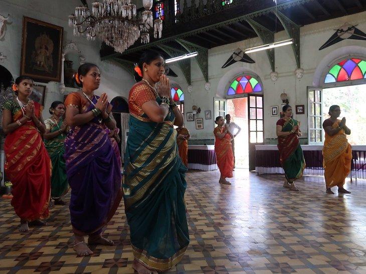Demonstrações no Palácio Sawantwadi - Sindhudurg - India © Viaje Comigo