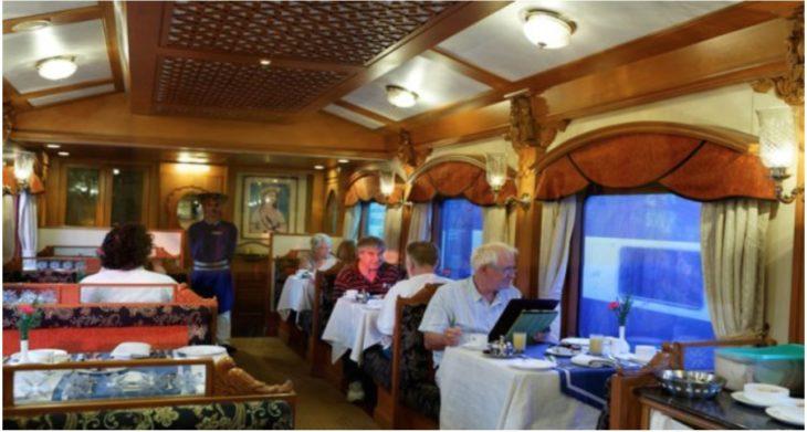 Comboio Deccan Odyssey - Direitos Reservados