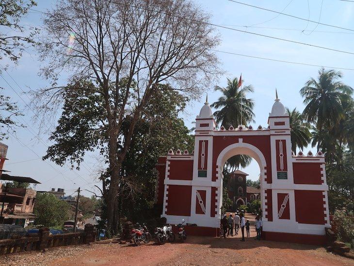 Palácio Sawantwadi - Sindhudurg - India © Viaje Comigo