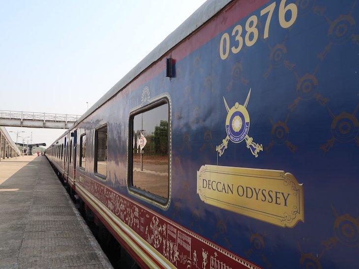 Comboio Deccan Odyssey - India © Viaje Comigo