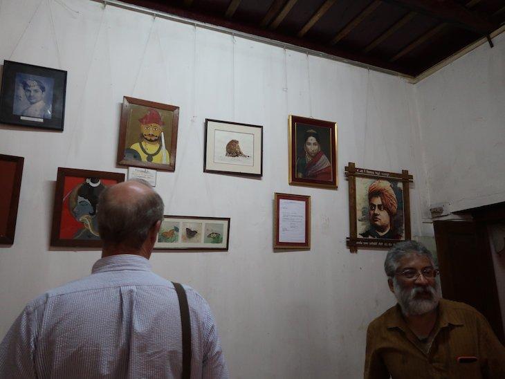 Espaço museológico do Palácio Sawantwadi - Sindhudurg - India © Viaje Comigo