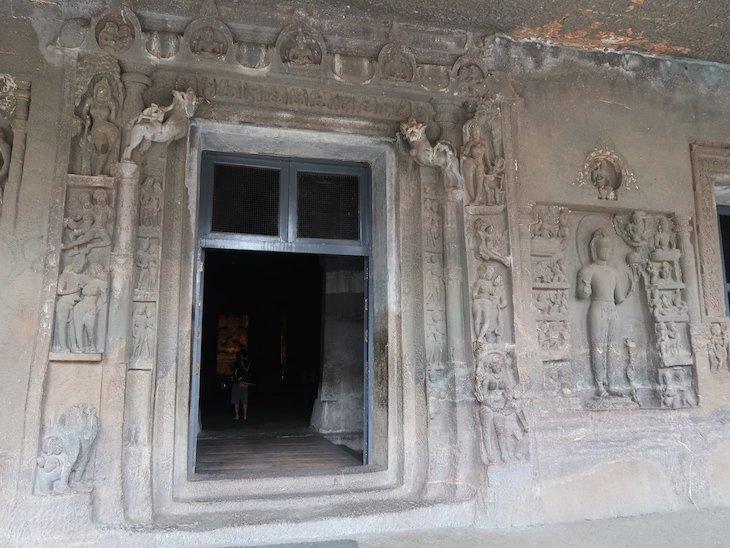 Grutas Ajanta - Aurangabad - Maharashtra - India © Viaje Comigo