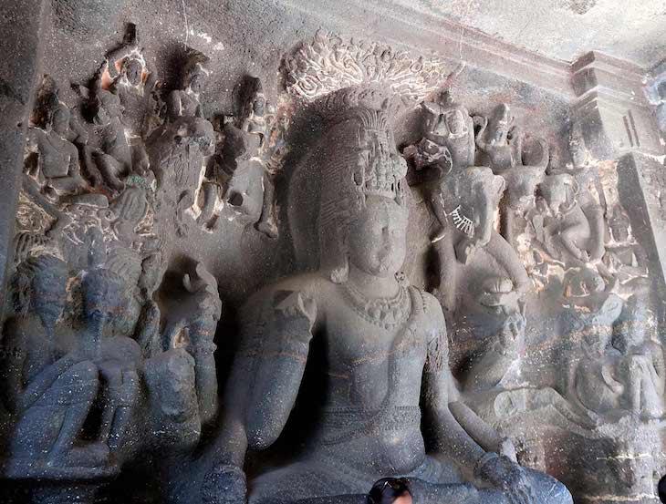 Caves Ellora - Aurangabad - Índia © Viaje Comigo