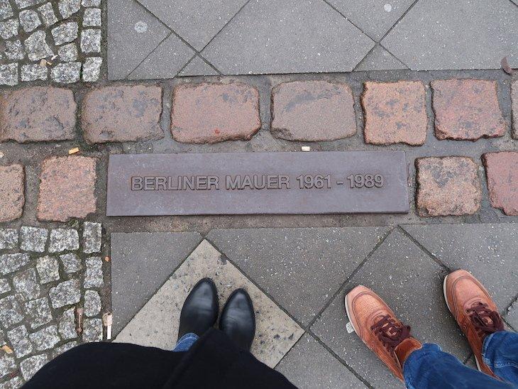 Linha do Muro de Berlim © Viaje Comigo
