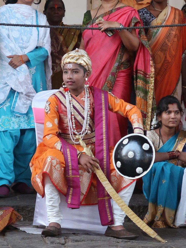 Lutador da Mardani Khel em Kolhapur - India © Viaje Comigo