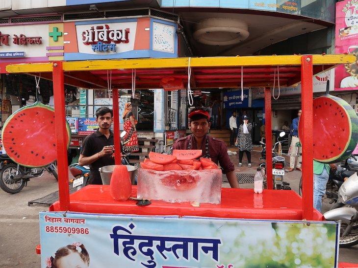 Melancia em Kolhapur - India © Viaje Comigo