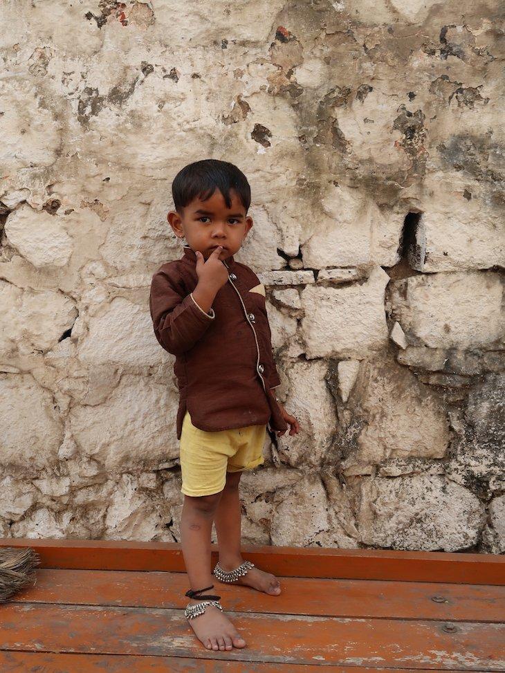 Menino de Nashik -Maharashtra- India © Viaje Comigo