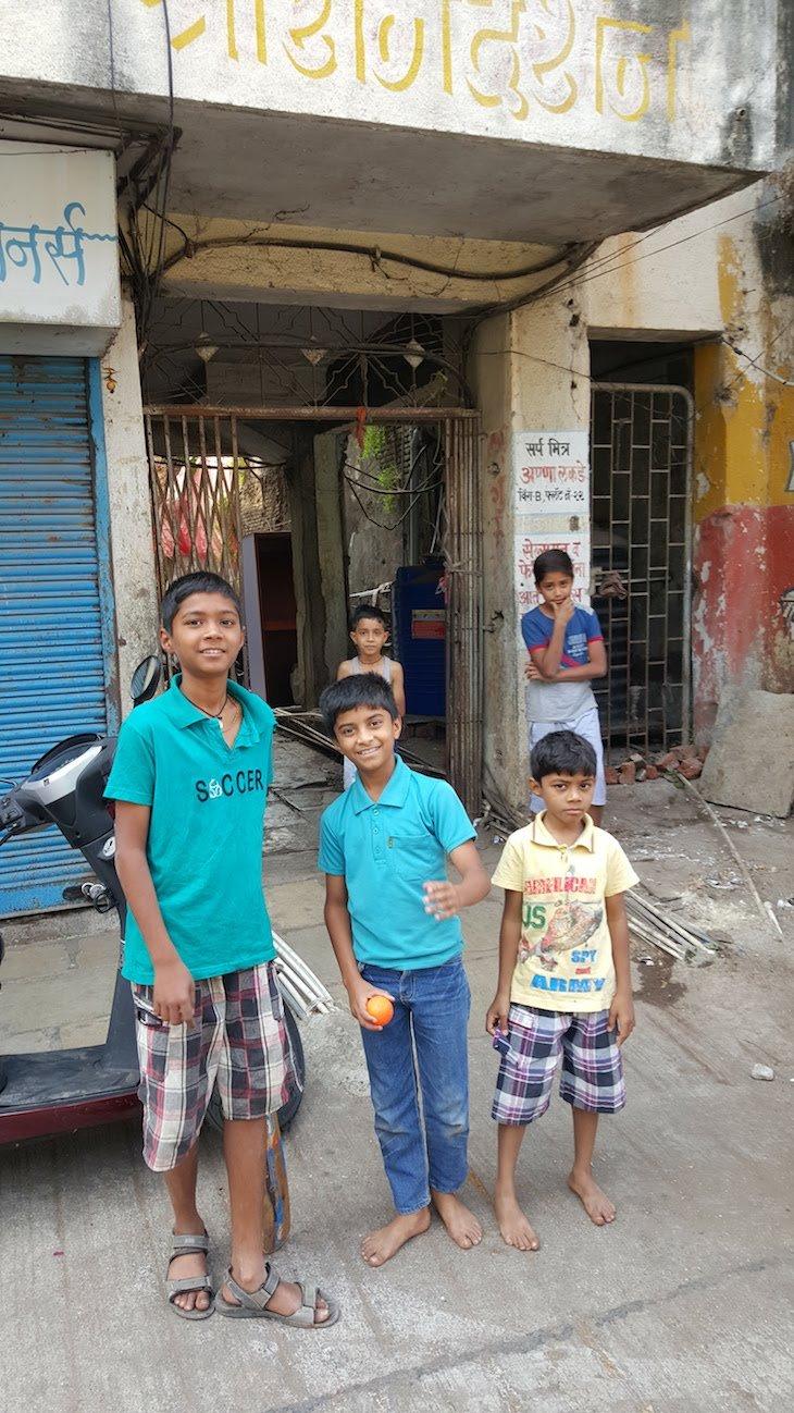 Meninos de Nashik - Maharashtra - India © Viaje Comigo