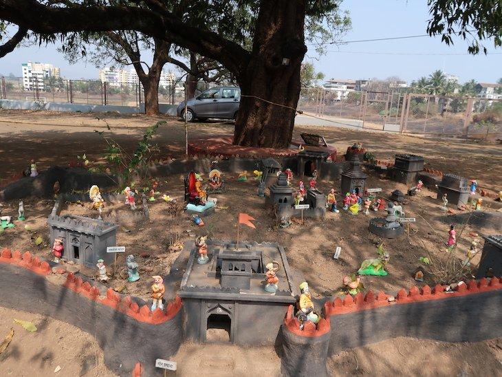 Miniatura no Palacio Kolhapur - India © Viaje Comigo