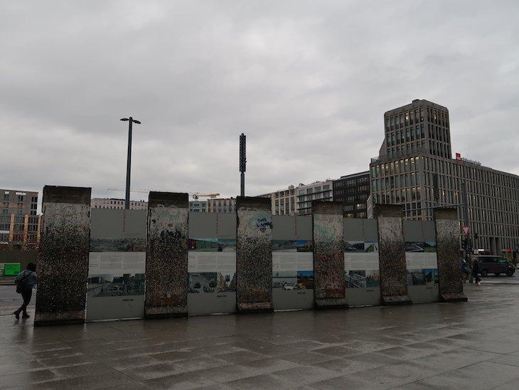 Muro de Berlim - na Postdamer Platz © Viaje Comigo.JPG
