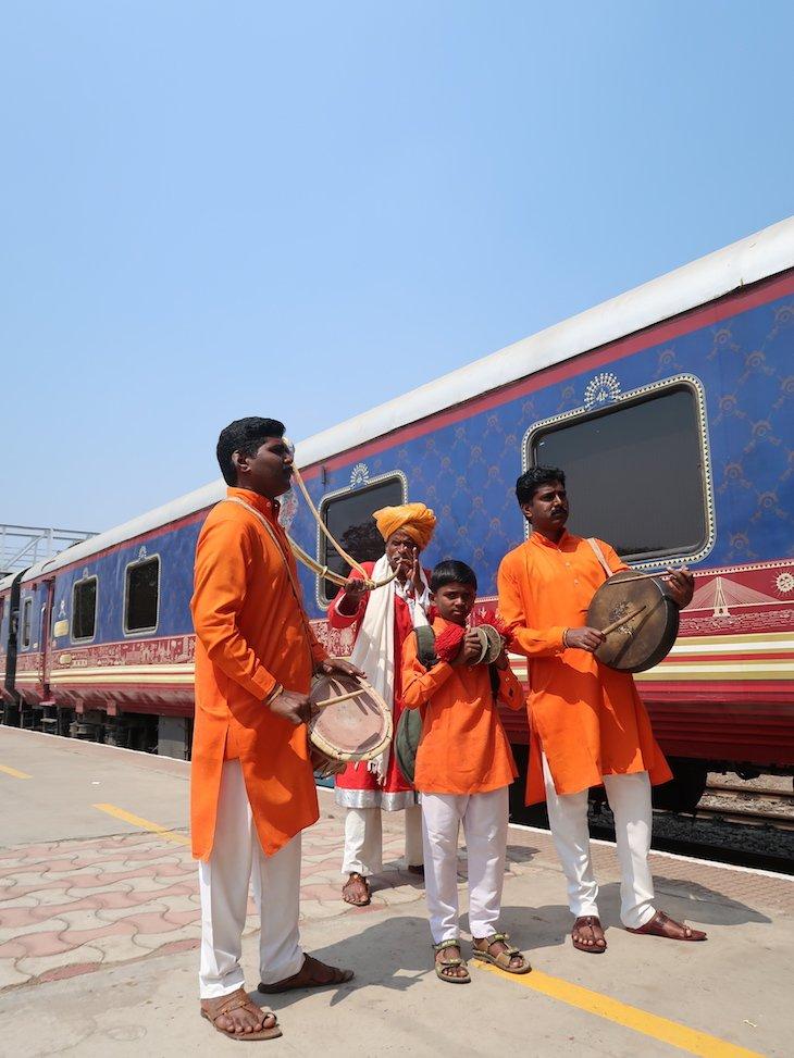 Receção em Kolhapur -Deccan Odyssey - Índia © Viaje Comigo