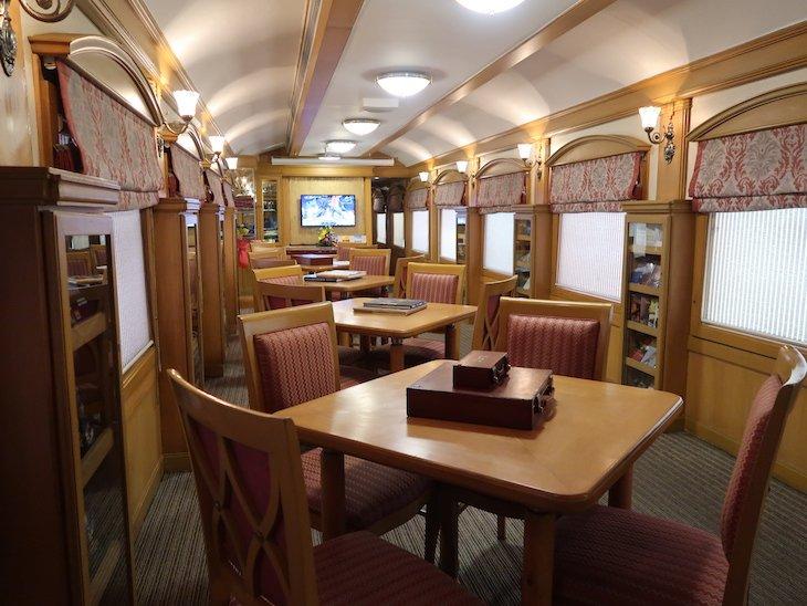 Comboio Deccan Odyssey - Índia © Viaje Comigo