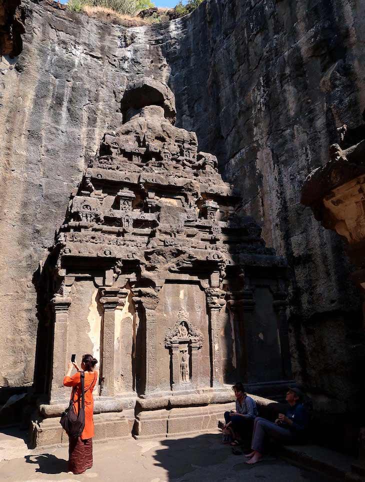 Visitar Grutas Ellora - Aurangabad - India © Viaje Comigo