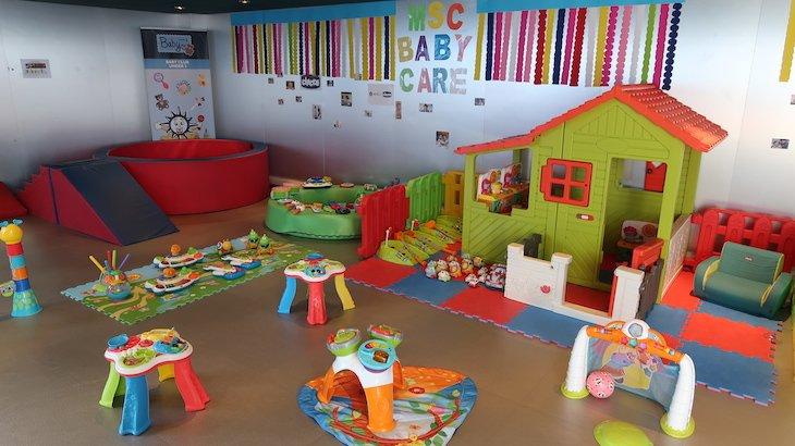 Sala para crianças no MSC Magnifica © Viaje Comigo