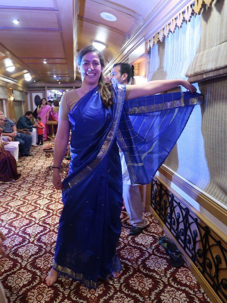 Noite de Bollywood - comboio Deccan Odyssey - Índia © Viaje Comigo