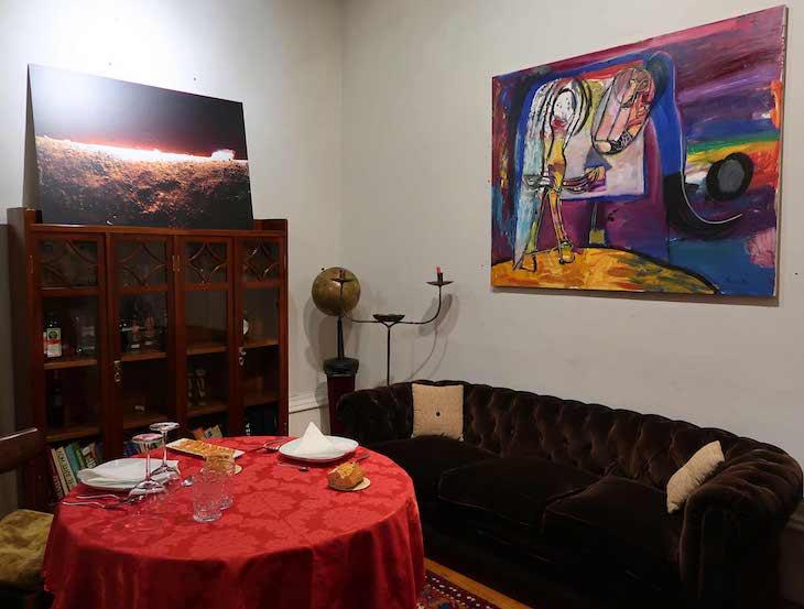 Galeria de arte e restaurante - Epelde & Mardaras Arte Galeria - Bilbau © Viaje Comigo