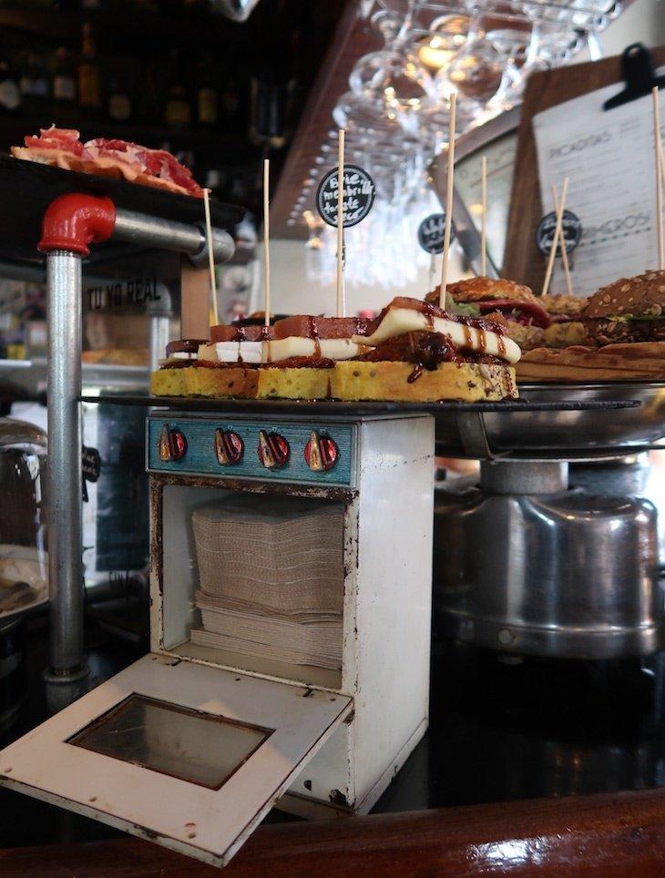 Bar Peso Neto - Bilbau © Viaje Comigo