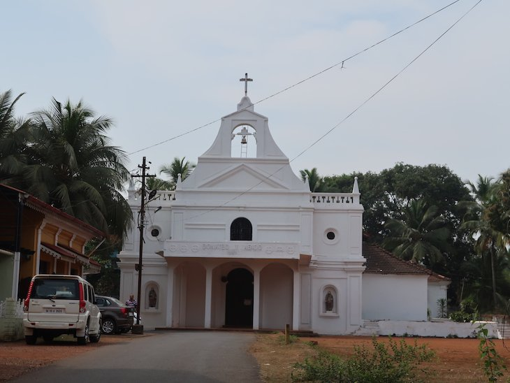 Igreja de Quepem - Goa - India © Viaje Comigo