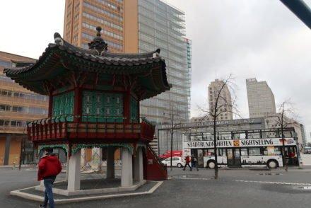 Pavilhão para a Unificação das Coreias - Potsdamer Platz - Berlim © Viaje Comigo