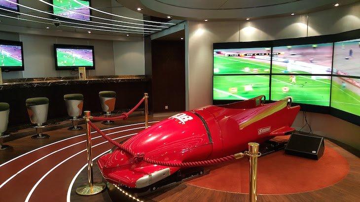 Sports Bar do MSC Magnifica © Viaje Comigo