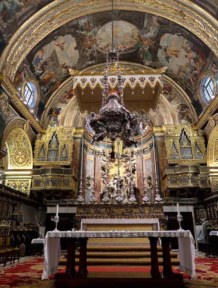 Co Catedral de S. João - Valetta - Malta © Viaje Comigo