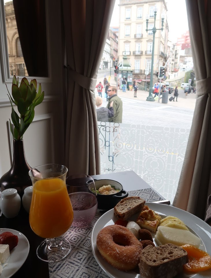 Brunch no restaurante Astória - Porto © Viaje Comigo