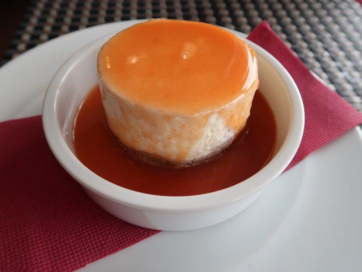 Cheesecake com goiabada - Restaurante Fornalha, Matosinhos © Viaje Comigo