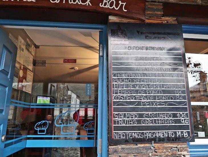 Restaurante Fontinha - Piódão, Portugal © Viaje Comigo