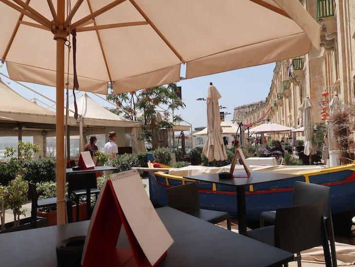 The Marina Club Steak & Grill, Valetta, Malta © Viaje Comigo