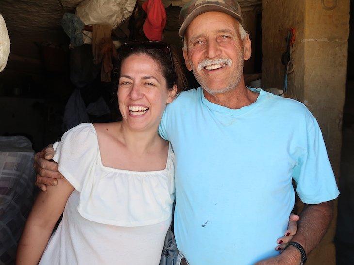 Eu e Alfred - Salinas de Gozo - Malta © Viaje Comigo