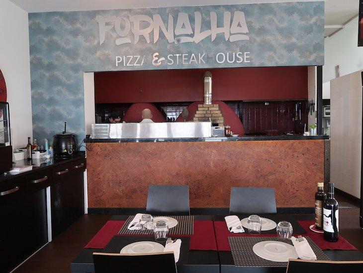 Sala do Restaurante Fornalha, Matosinhos © Viaje Comigo
