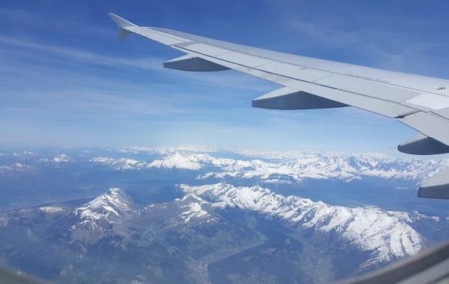 Foto avião e neve © Viaje Comigo