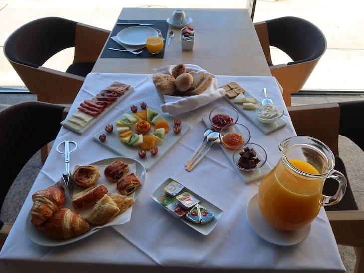 Pequeno-almoço do Cró Hotel Rural e Termal Spa © Viaje Comigo