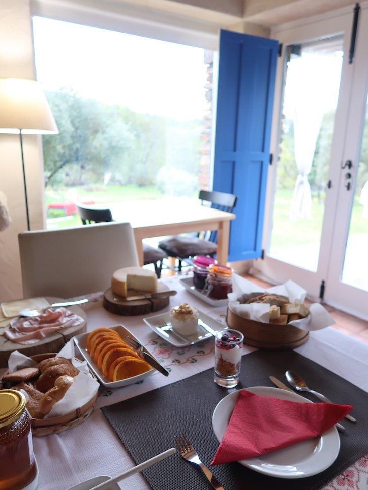 Pequeno-almoço do Moinho do Maneio - Penamacor - Portugal © Viaje Comigo