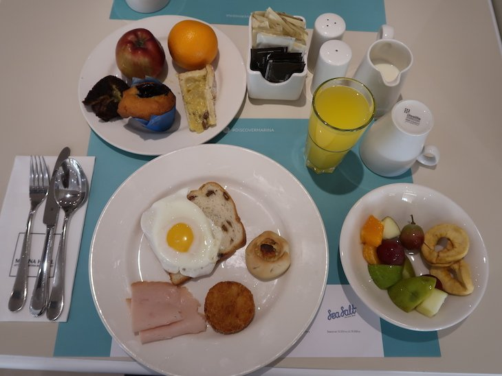 Pequeno-almoço no Marina Hotel Corinthia Beach Resort, Malta © Viaje Comigo